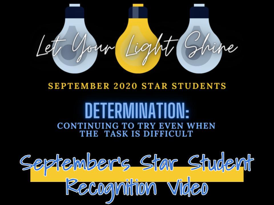 September Star Student