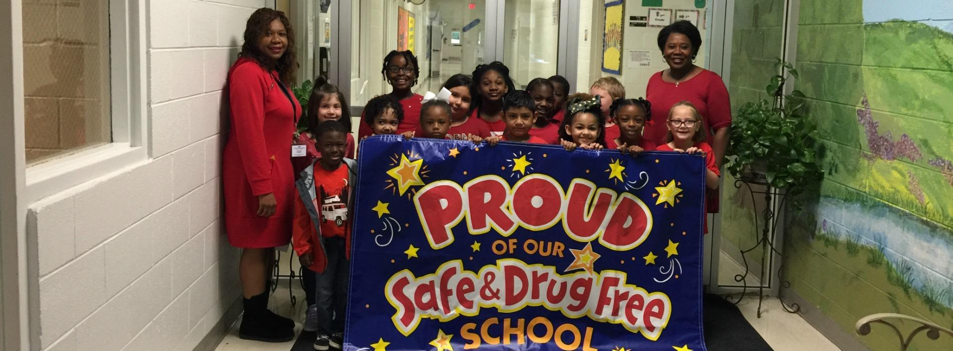 wear red for drug free week