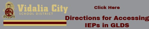 Directions for Accessing IEPs in GLDS