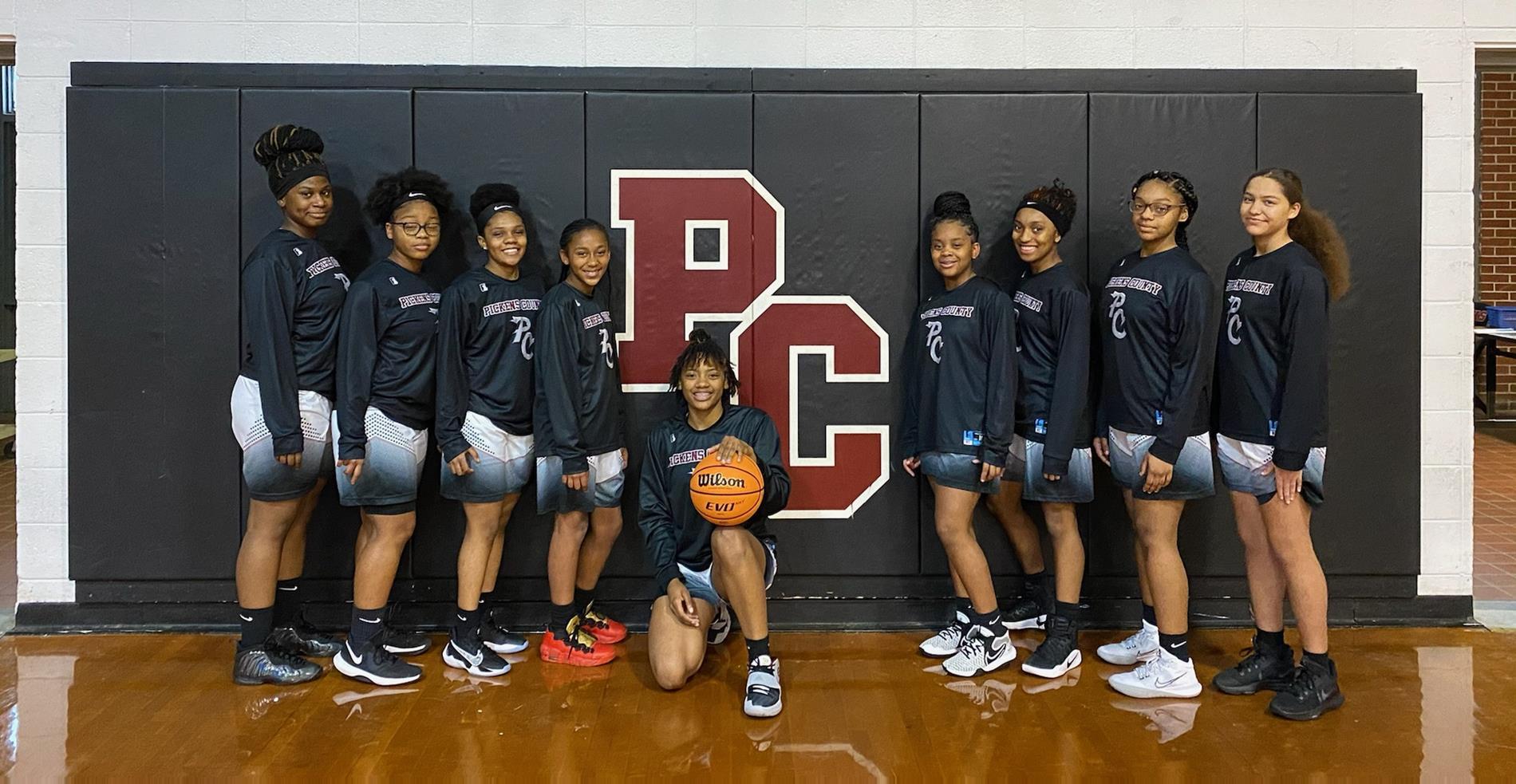 2020 Girls Varsity Basketball Team