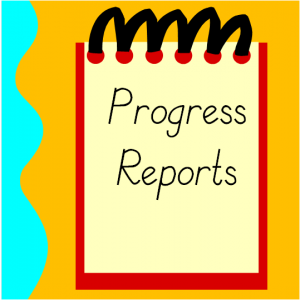 Progress Reports September 23, 2020