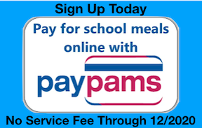 Pay Pams has no service charge through 12/2020
