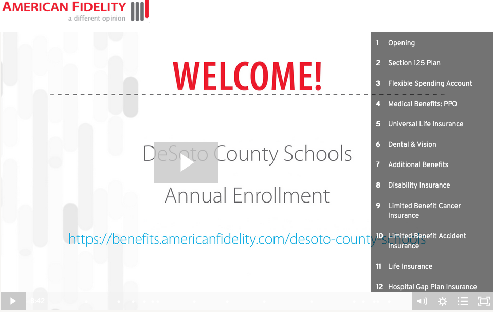 Informational Video of DeSoto County School District Annual Open Enrollment