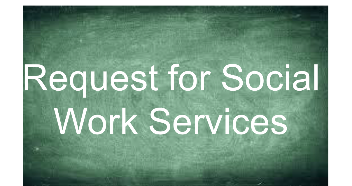 Social Work Request Form