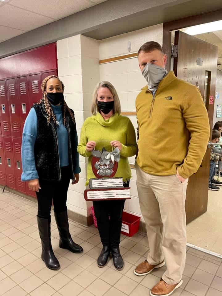 Mrs. Dark - January Teacher of the Month