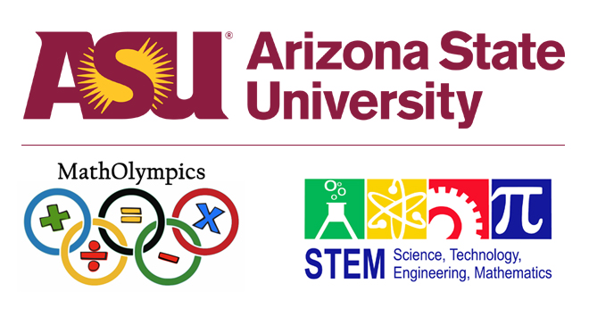 ASU STEM MathOlympics banner