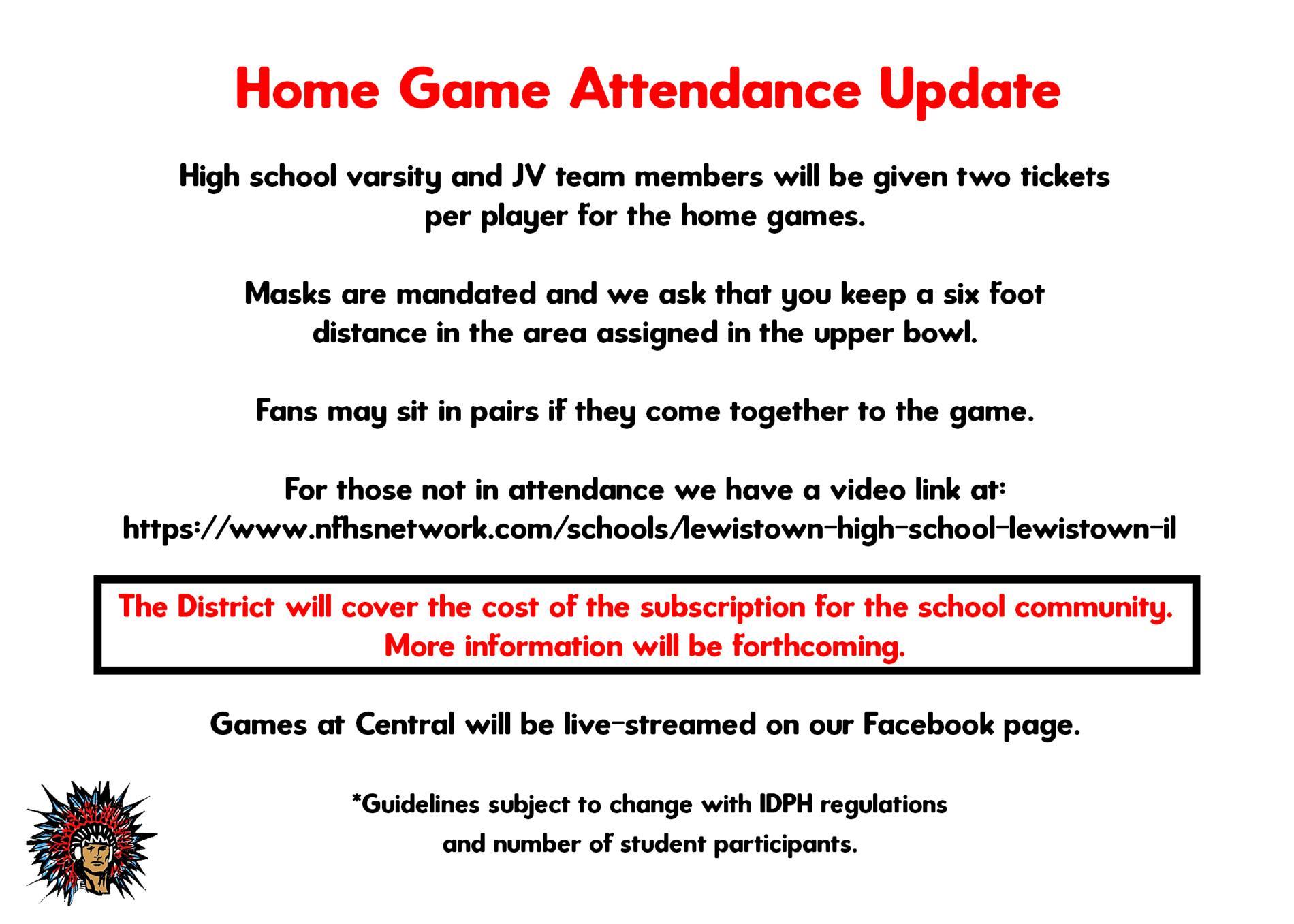 Fan Attendance