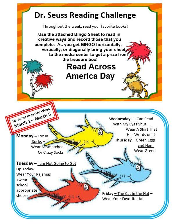 Read Across America Information