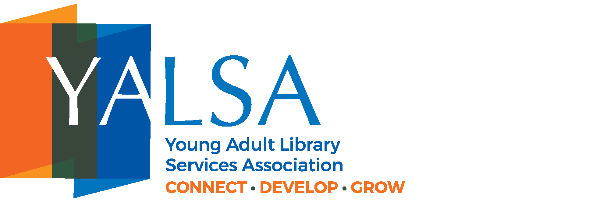 Young Adult Library logo with link to YALSA webpage
