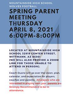 Football Parent Meeting