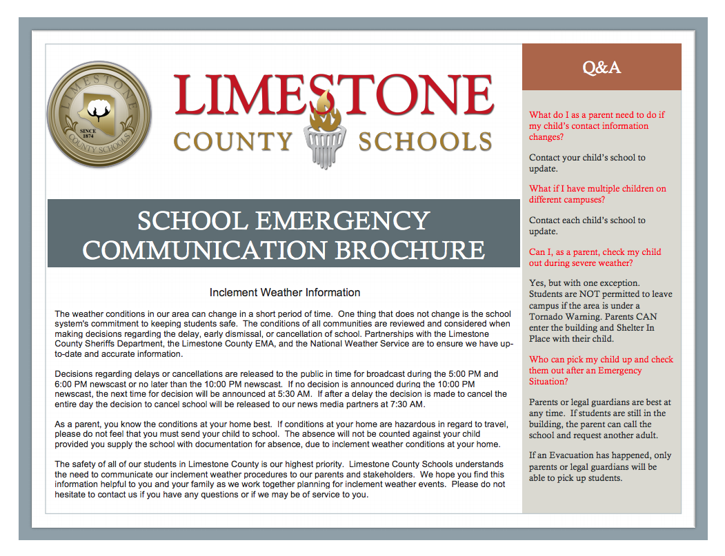 Emergency Brochure