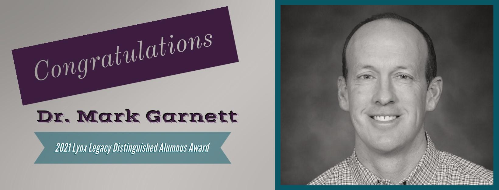 2021 Alumni Award Garnett
