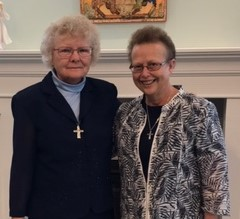 Sr. Cynthia and Sr. Madelena