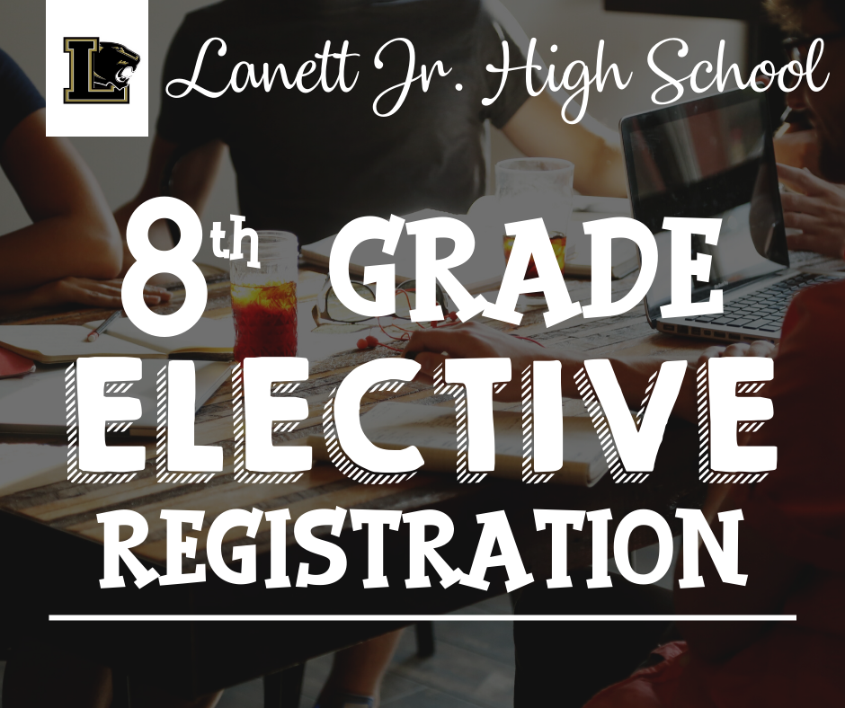 Elective Form for 8th Grade