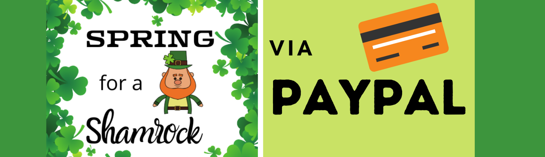 Paypal Shamrock Campaign