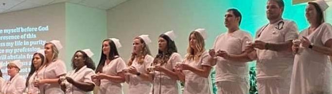 LPN Graduates Pinning Ceremony