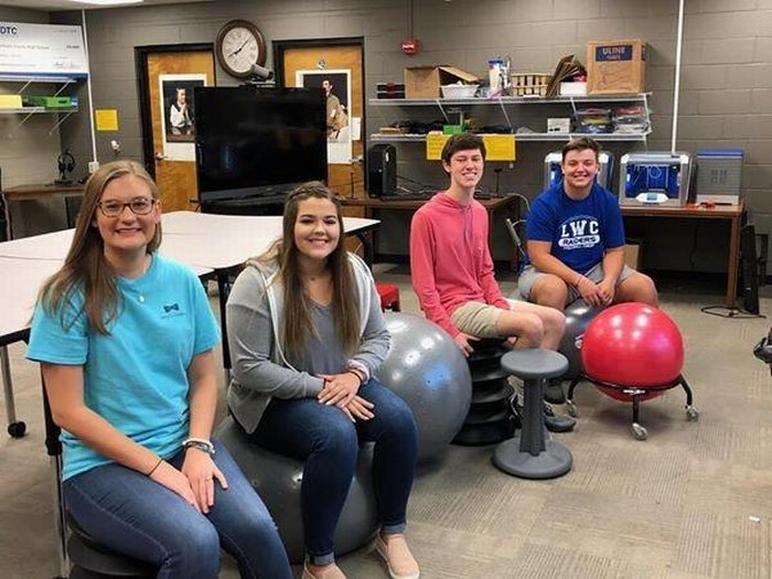 Active seating for the Stem Lab at DCHS