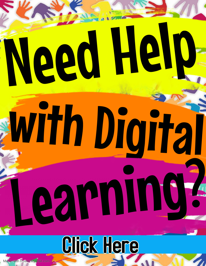 Need Help With Digital Learning Flyer