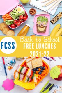 Free School Lunches 2021-22 School Year