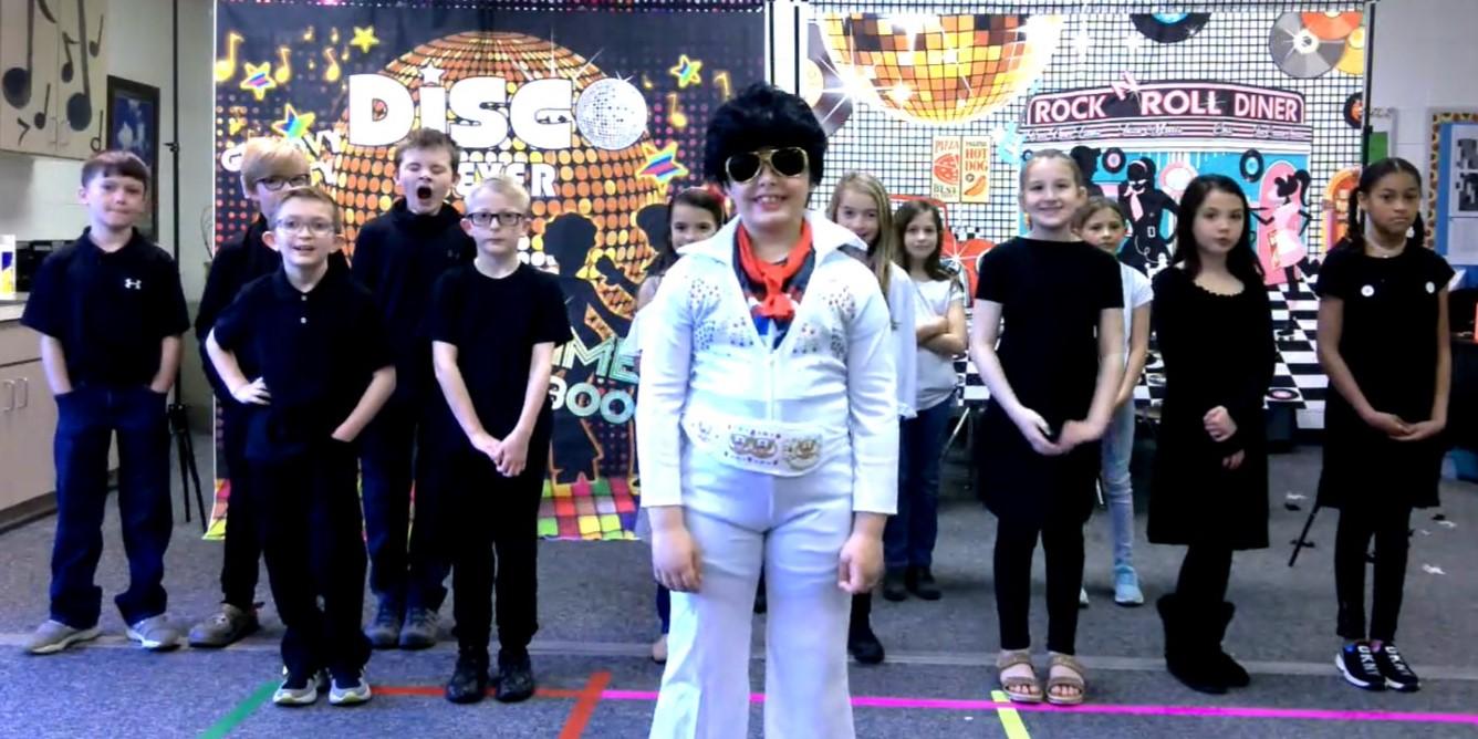 Farmer 3rd grade musical performance spring 2021