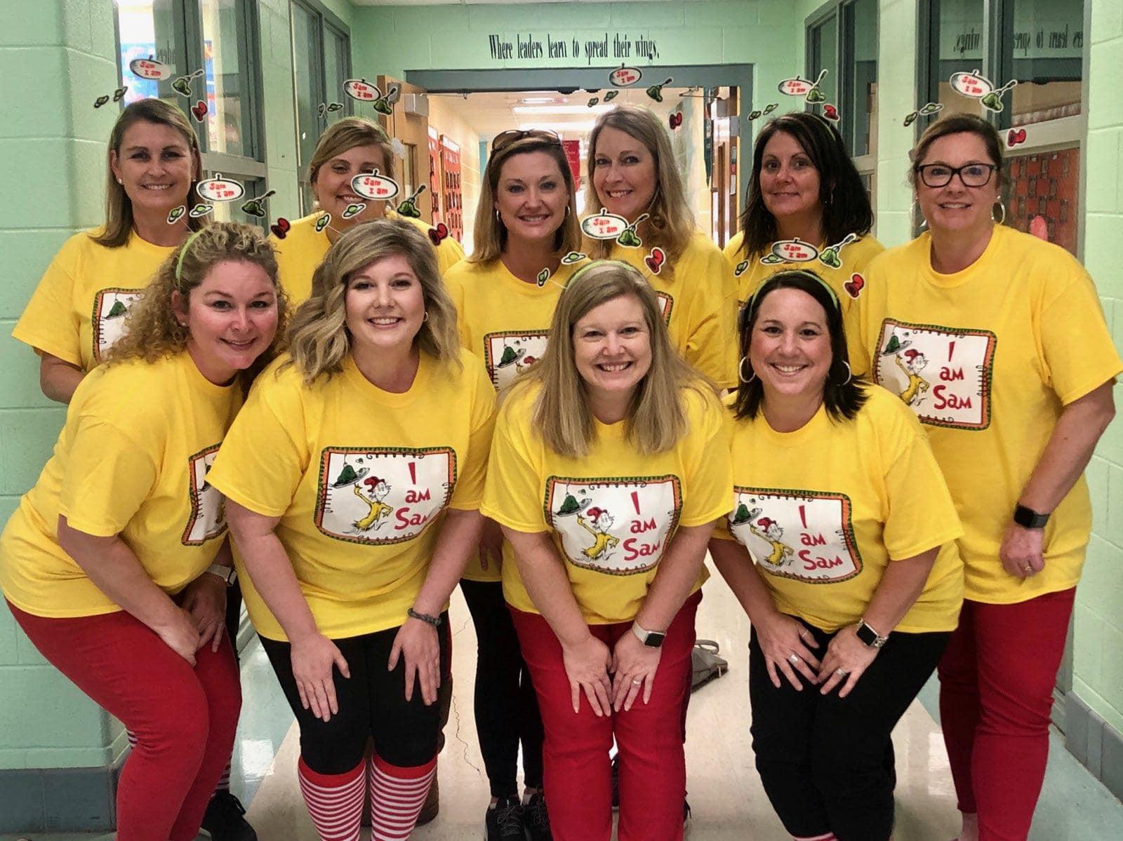 Dr. Seuss Day- 1st Grade teachers