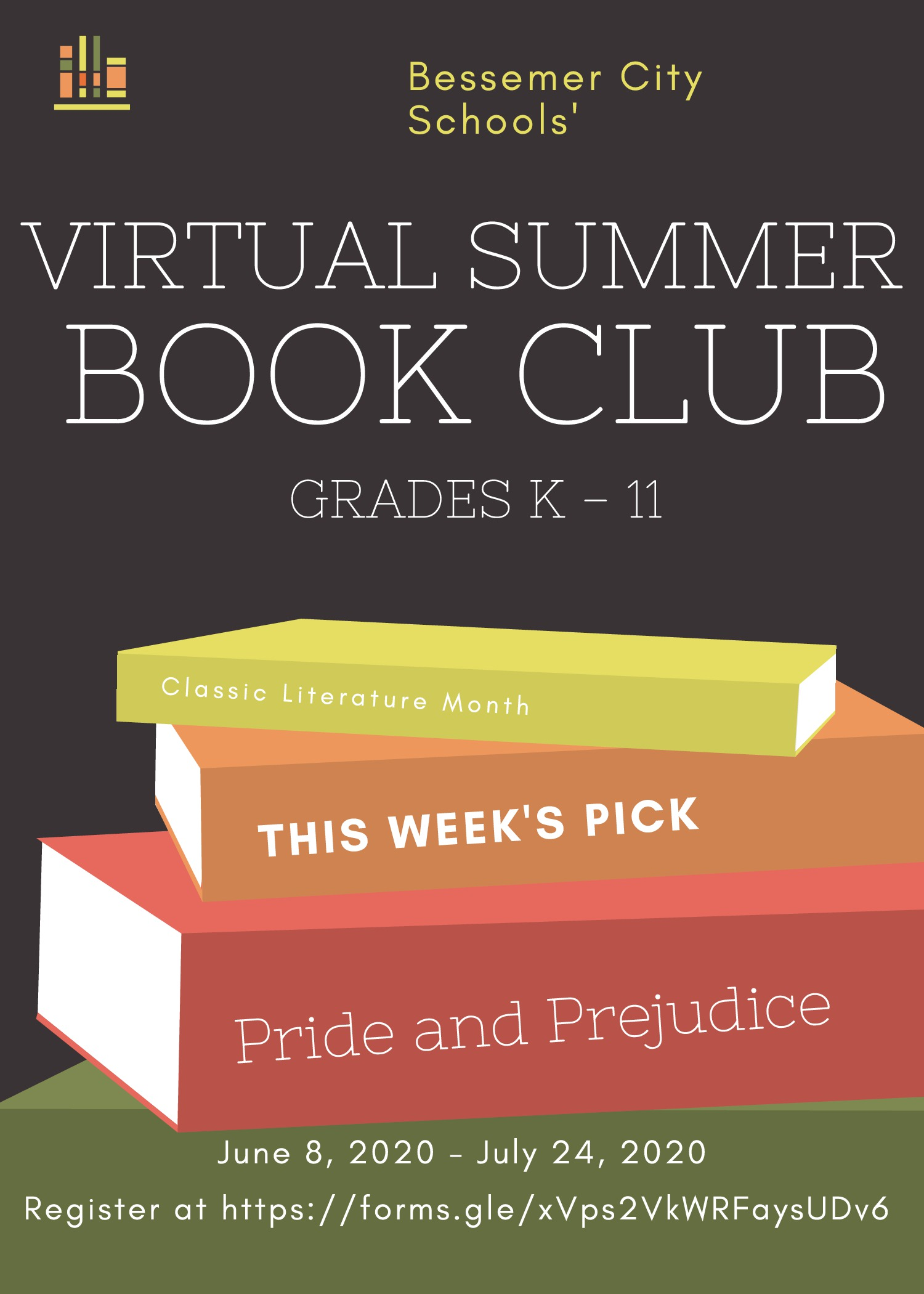 Virtual Summer Book Club
