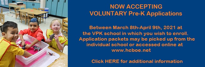 Voluntary Pre-K Dates