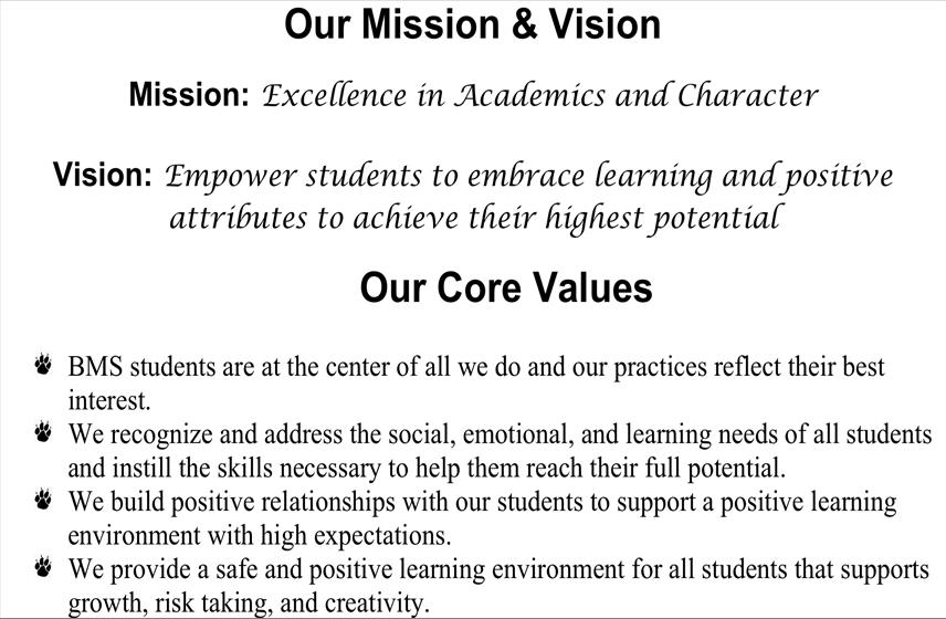 mission - vision