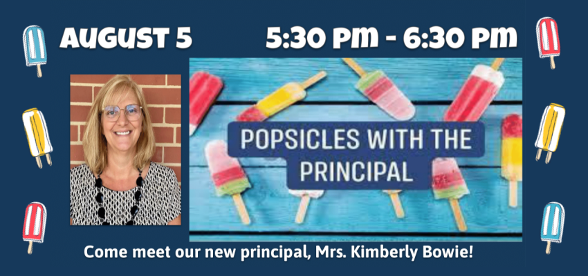 popscicles with the principal