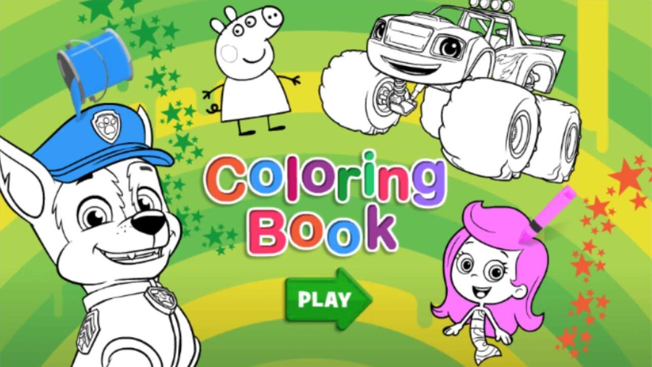 Nick Jr Coloring Link