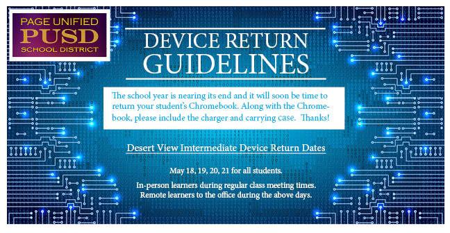 Device return graphic