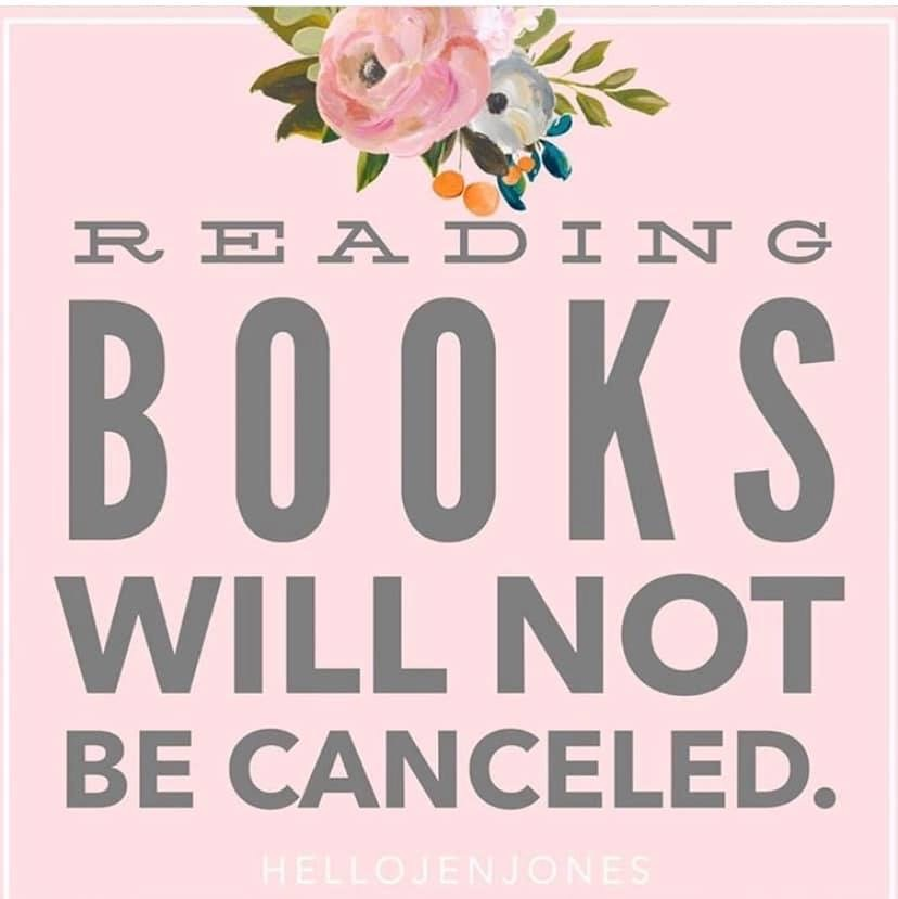 Reading Books Will Not Be Cancelled picture by hellojenjones