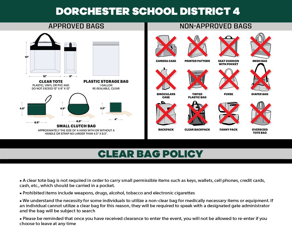 School and District Clear Bag Policy