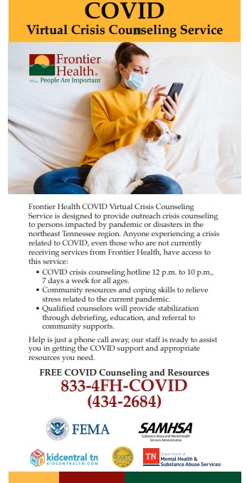 COVID Virtual Crisis Counseling Service