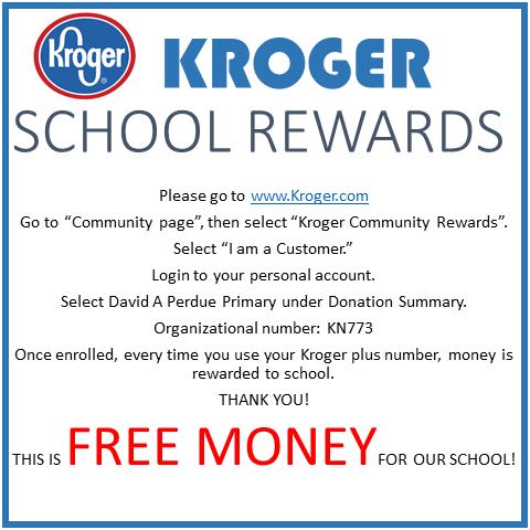 Kroger School Rewards