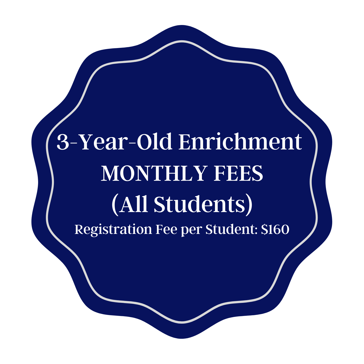 Monthly Tuition - 3E