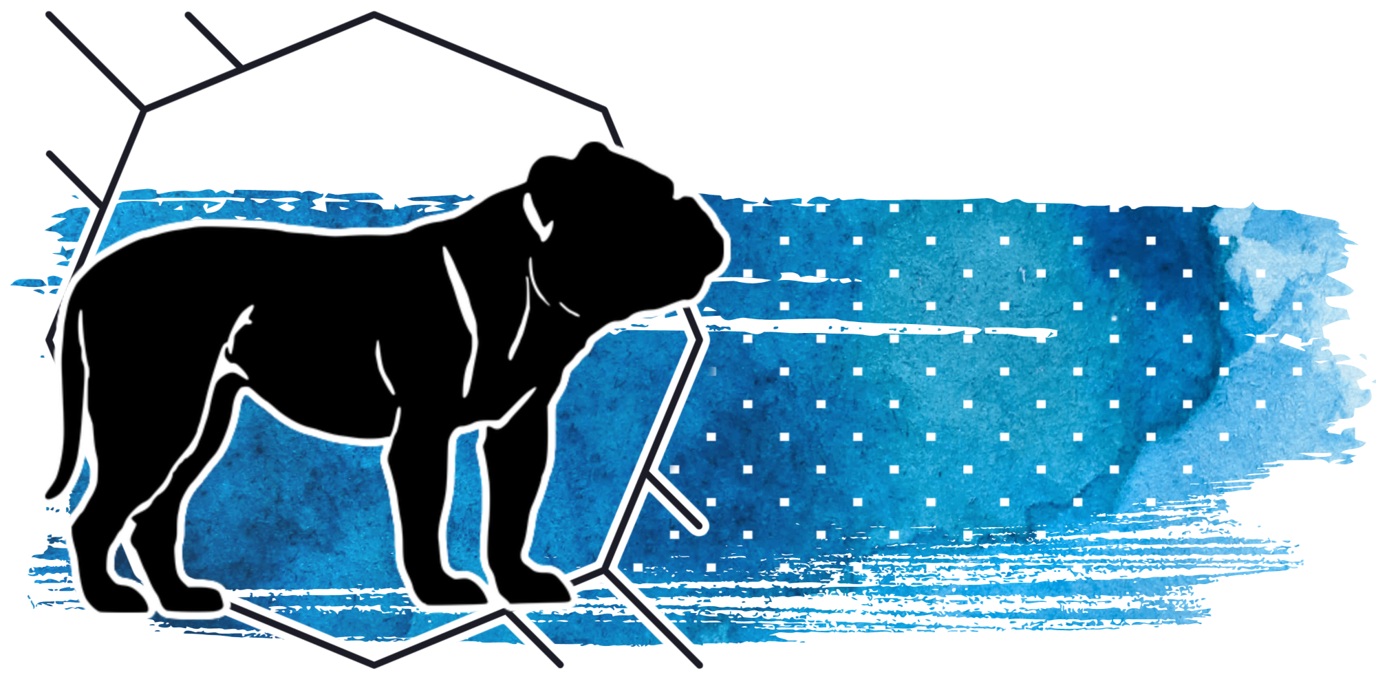 bulldog graphic