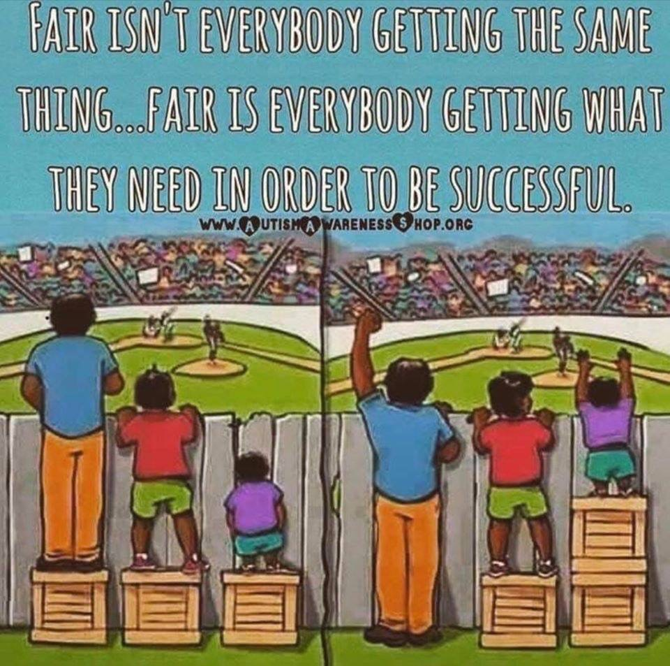 We will do what's needed to help each child learn!
