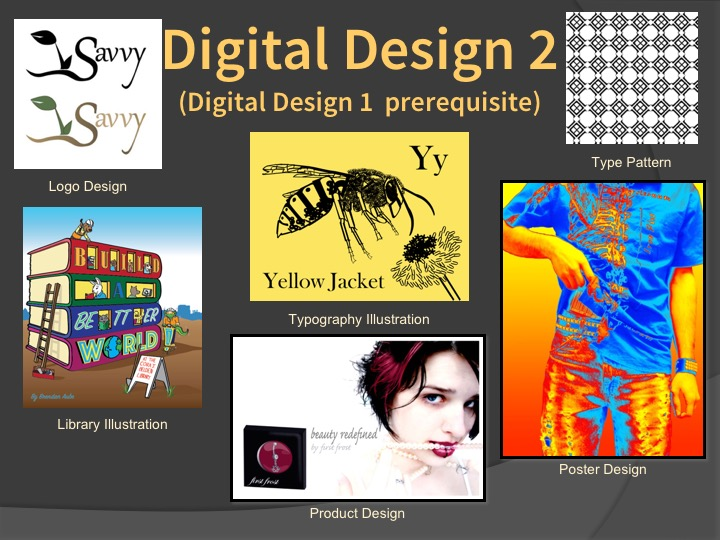 Examples of Digital Design 2 student work