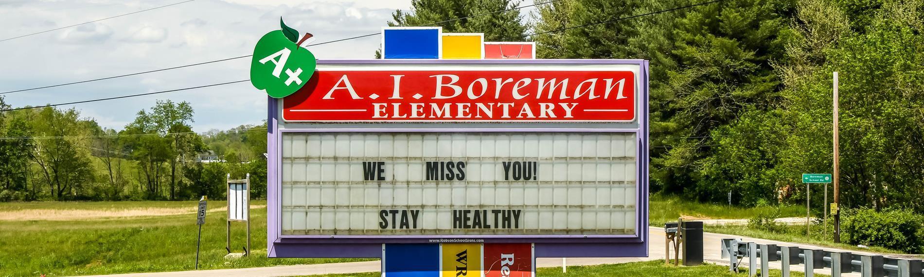 Boreman Sign