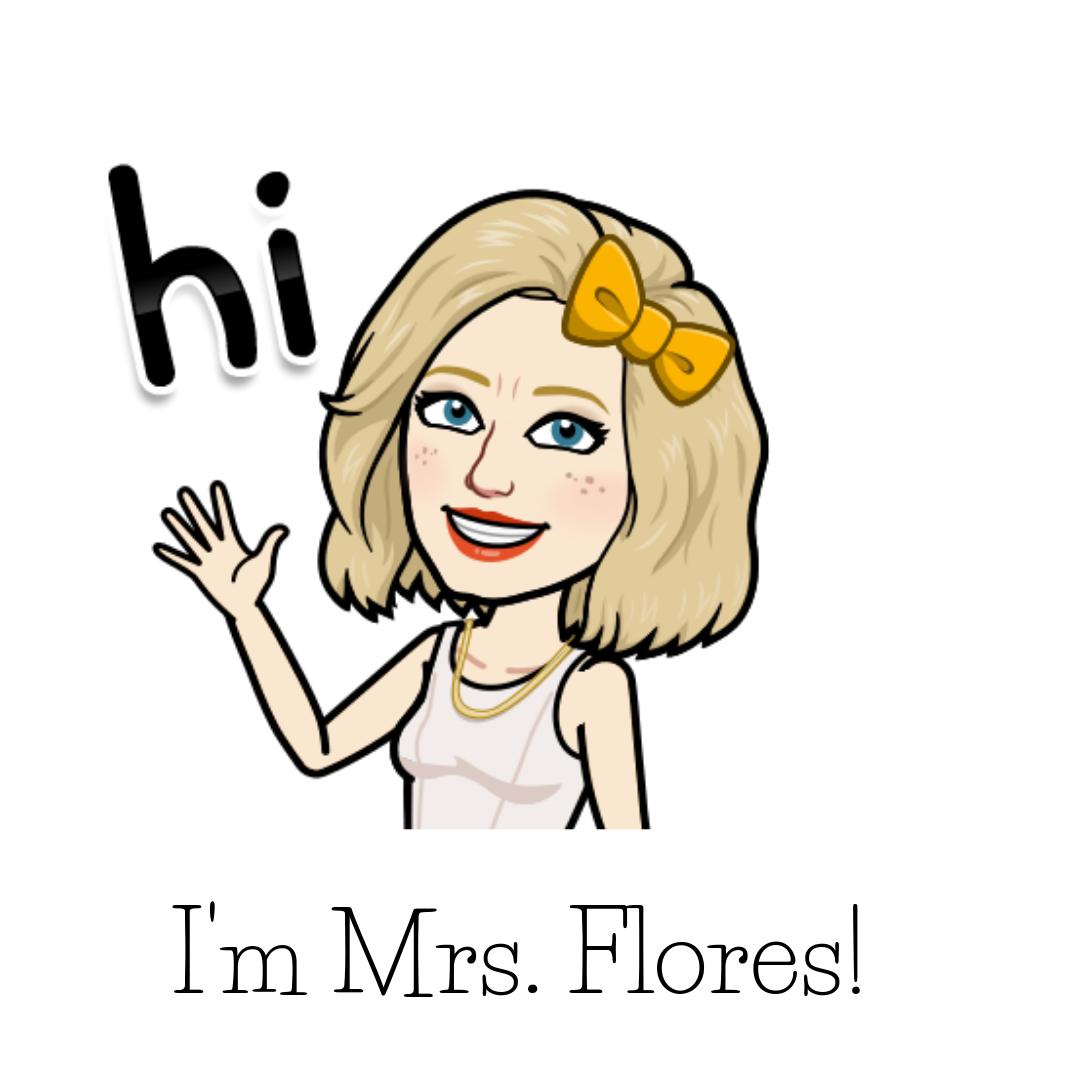 Ms. Flores bitmoji