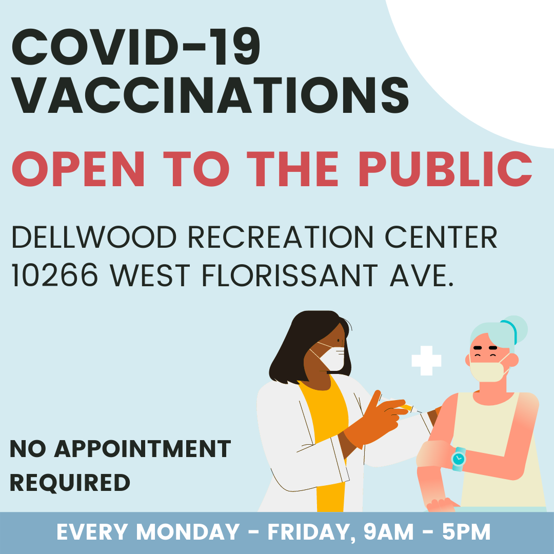 COVID-19 Vaccinations Dellwood Rec Center