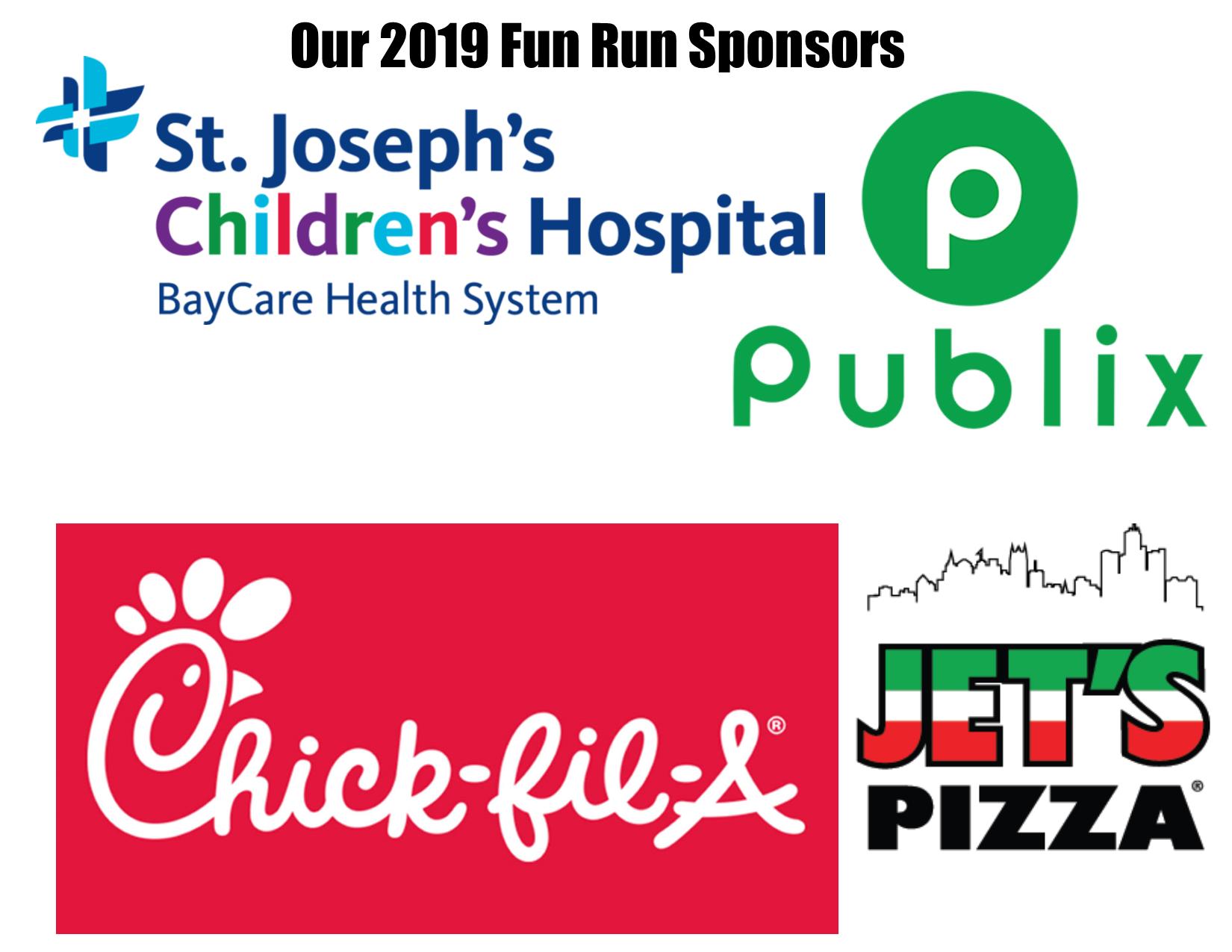 Fun Run Sponsors 2019
