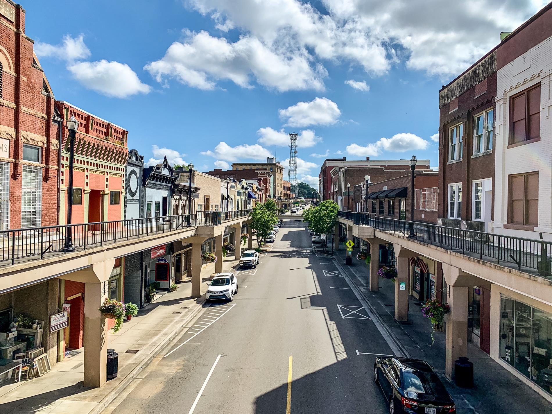 Downtown Morristown, TN