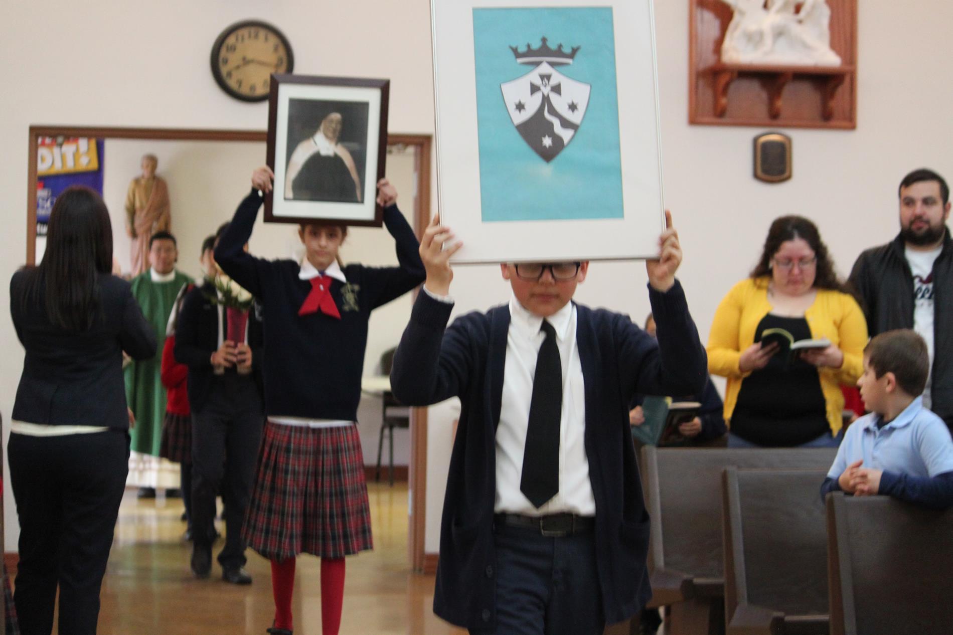 Procession into Catholic Schools' Week Opening Mass