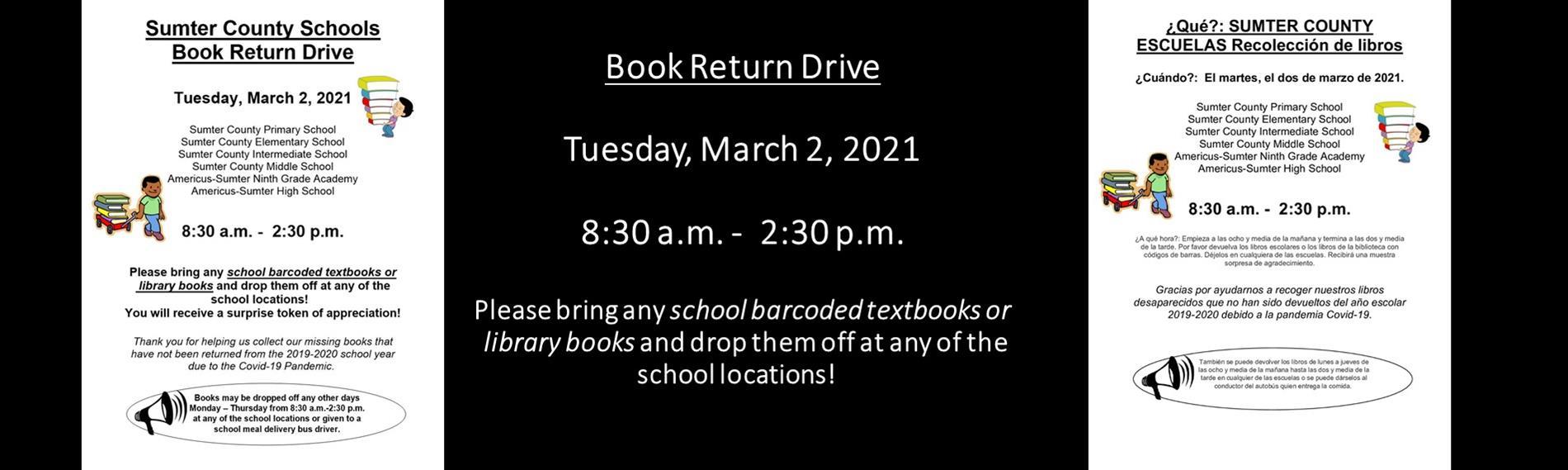 Book Return Drive