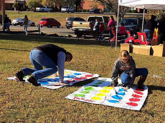 Twister with a big kid!
