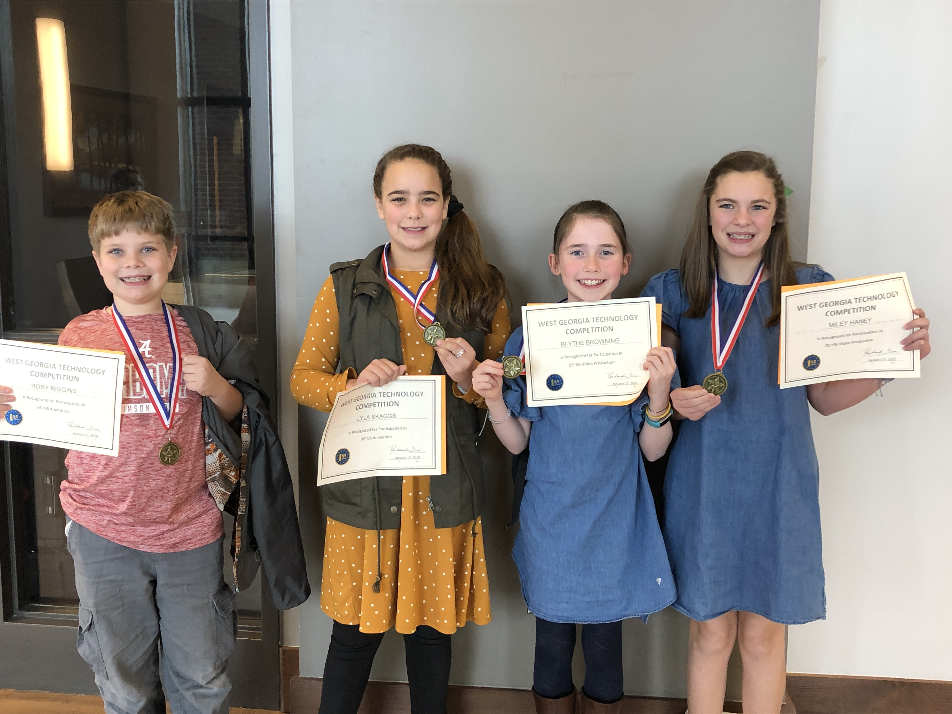 RES Technology Team County Level Winners
