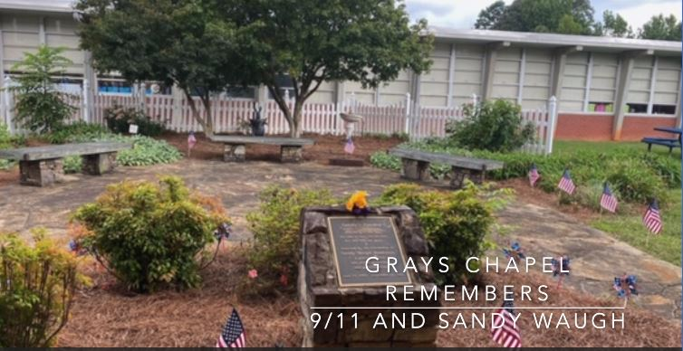 Grays Chapel Remembers 9/11 and Sandy Waugh