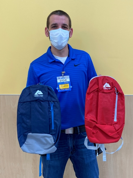 A huge thank you to Steve at Walmart. He donated 35 backpacks for students at Northside to do Distance Learning.